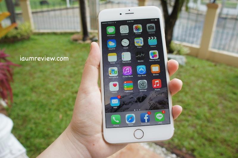 รีวิว iPhone 6 Plus จัดเต็มแบบไทยไทย : เปลี่ยนความใหญ่  เป็นความคุ้มค่าในการใช้งาน :