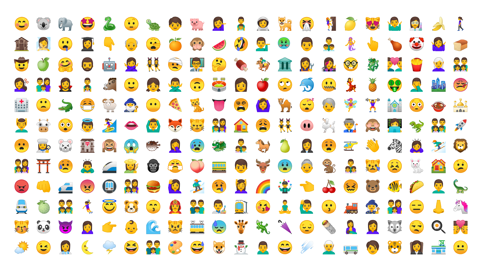 New emoji for Android O
