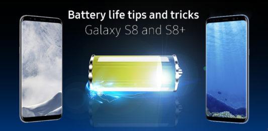วิธีประหยัดแบต Galaxy S8