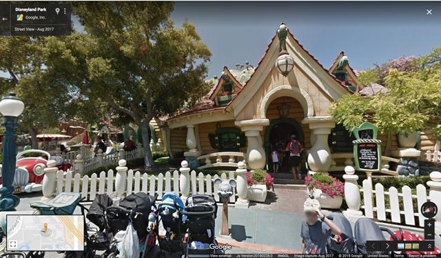 Mickey & Minnie's Houses, Disneyland Park