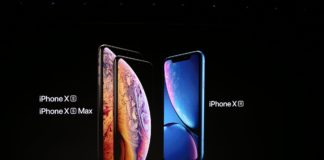 iPhone XS iPhone XS Max iPhone XR