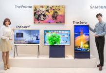 Samsung Vertical TV