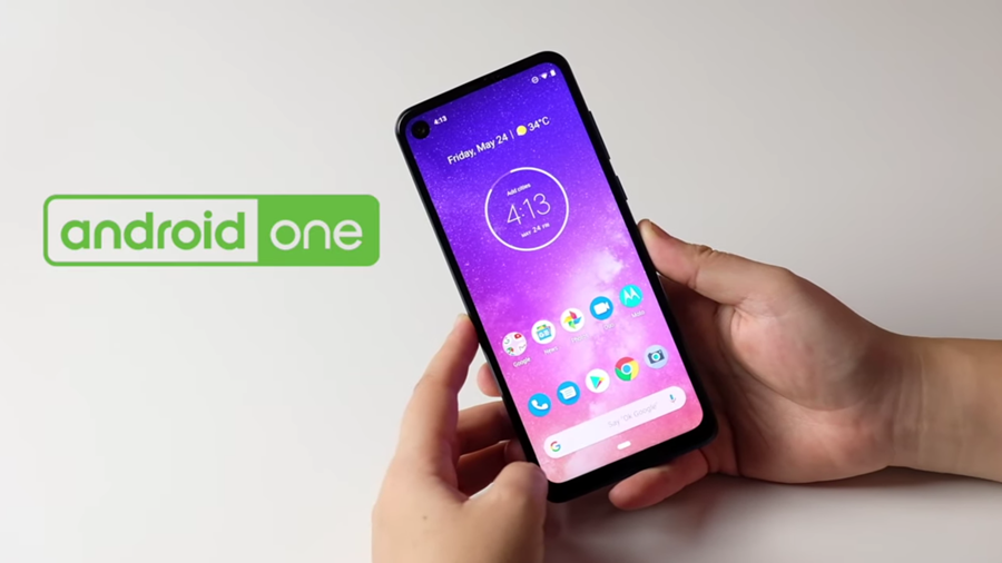 android one Motorola One Vision