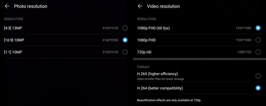 กล้องหลัง Huawei MediaPad M5 Lite