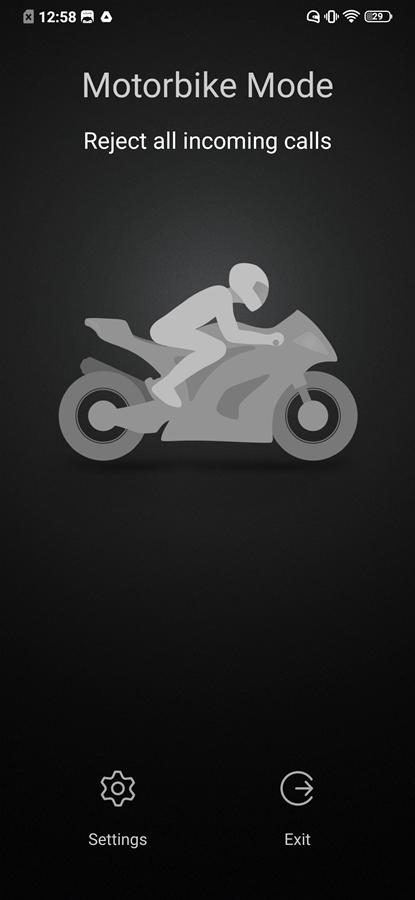 motorbike mode