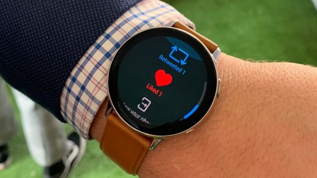 Galaxy Watch Active 2 Image credit: Tom's Guide