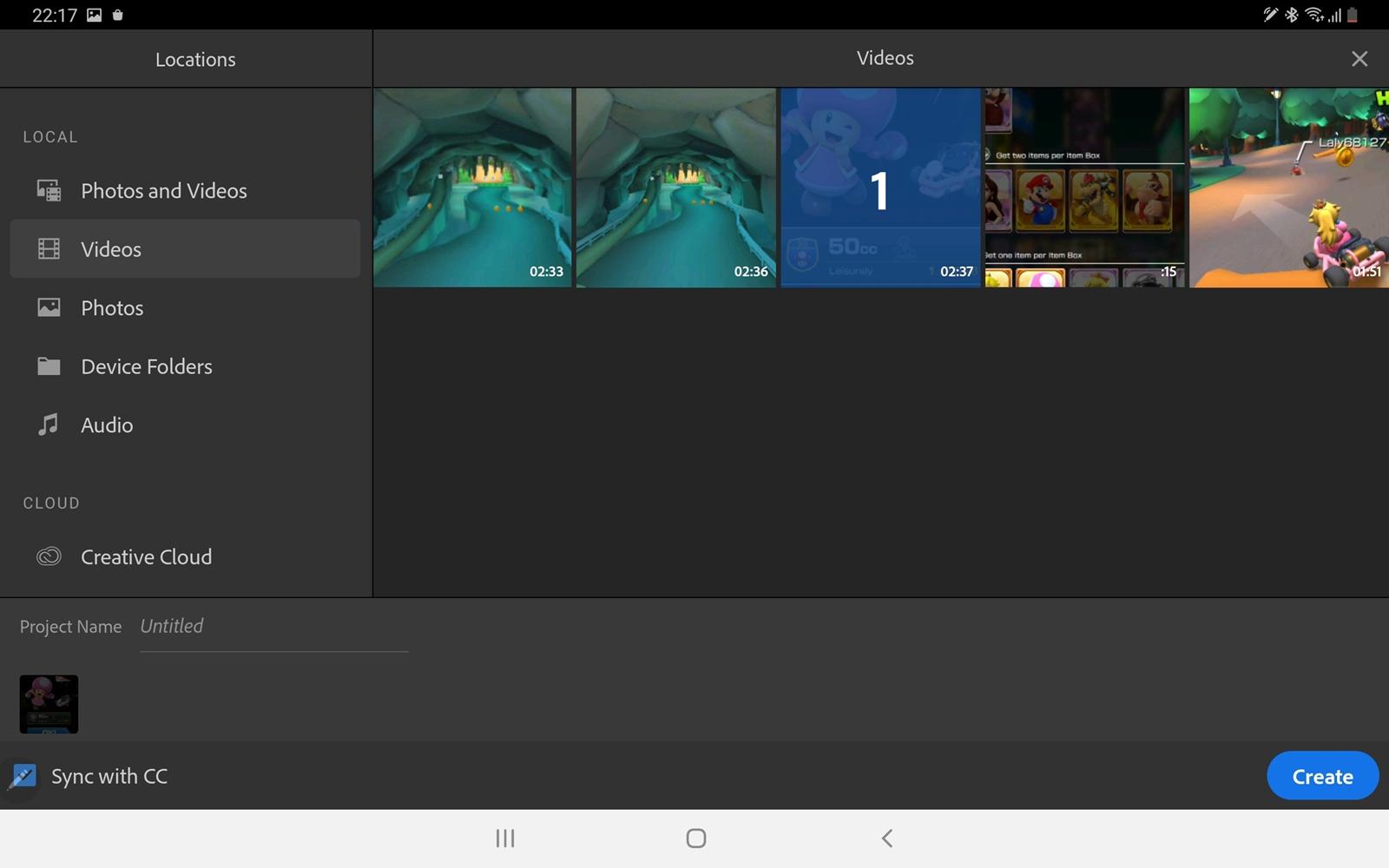 Adobe Premier Rush