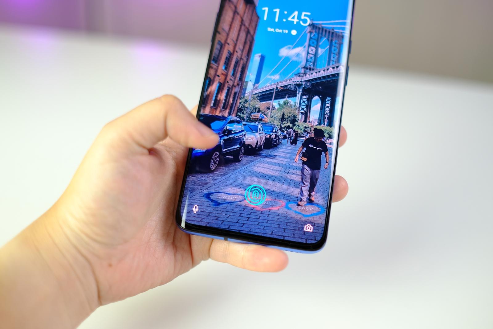 OnePlus 7T Pro fingerprint