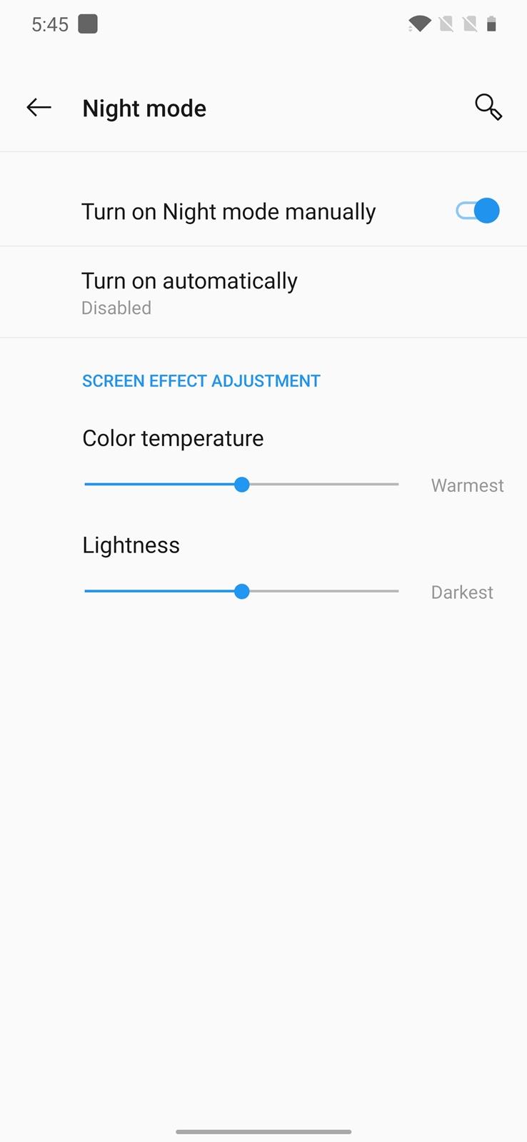 OnePlus 7T Pro Night Mode