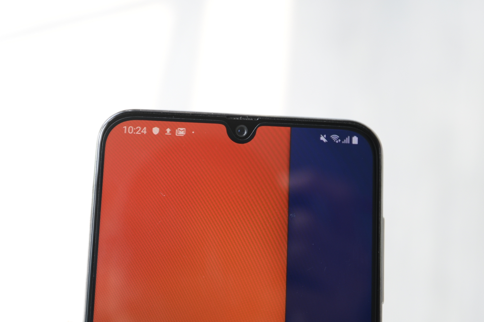 samsung galaxy a50s infinity-u display