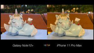 Compare Photo Shot Galaxy Note10+ vs iPhone 11 Pro Max