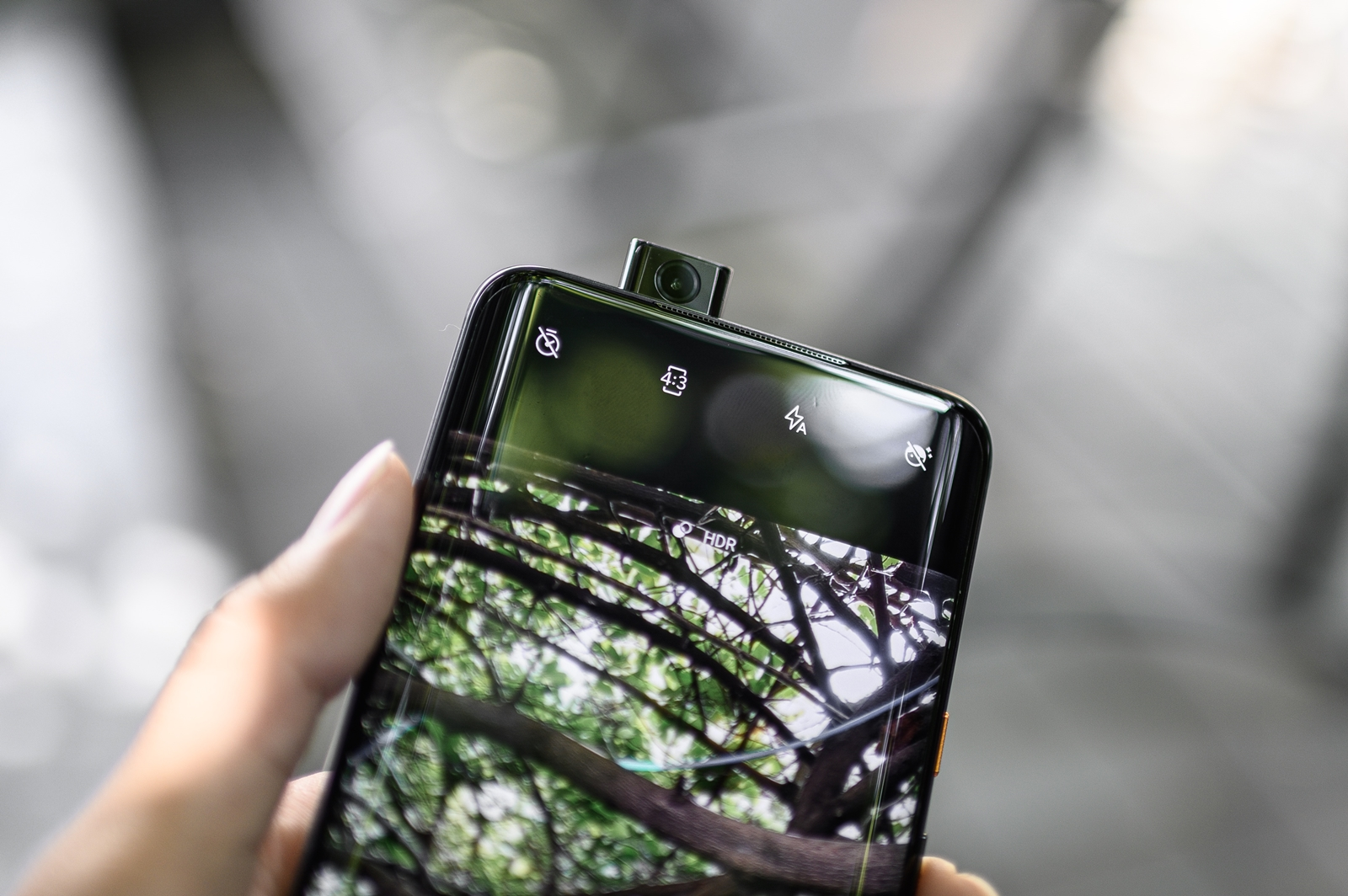 OnePlus 7T Pro McLaren Limited Edition Front Camera Popup