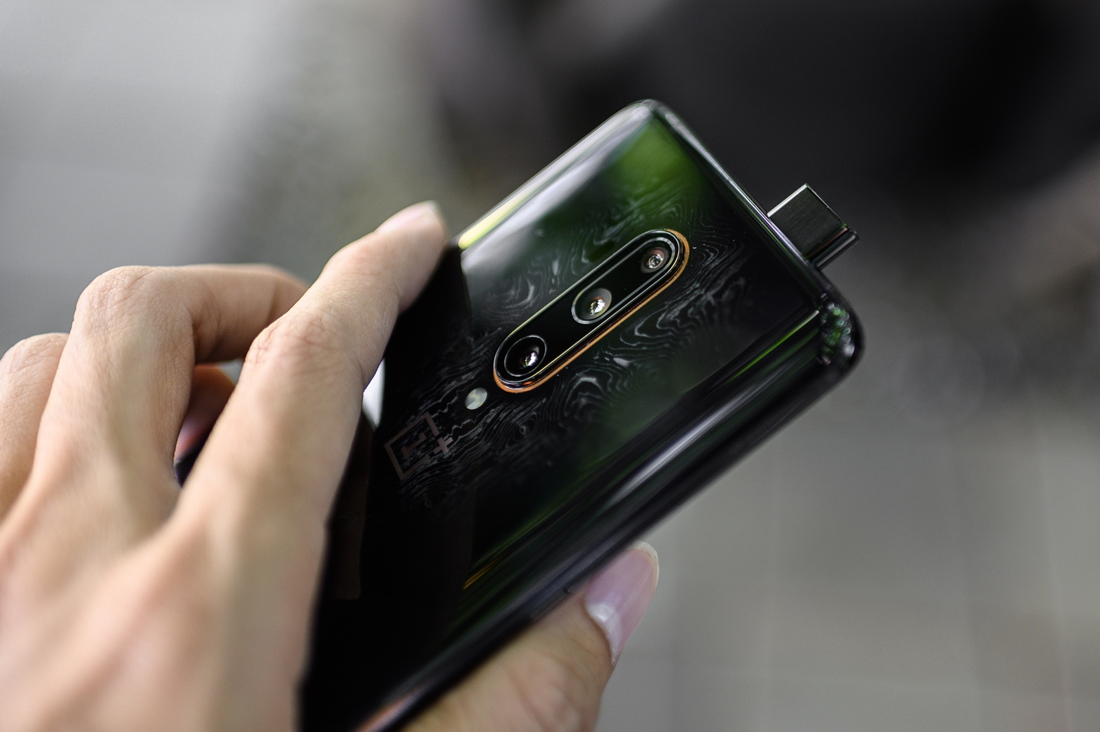 OnePlus 7T Pro McLaren Limited Edition Front Camera