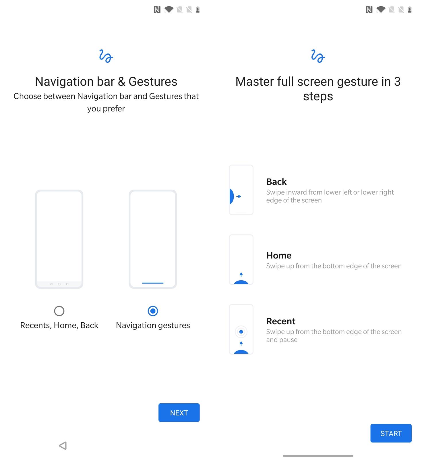 OnePlus 7T Pro McLaren Navigation - gestures