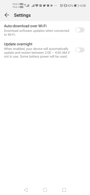 Update EMUI 9.1