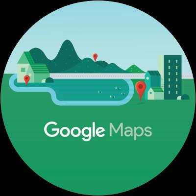 Wear OS Google Maps