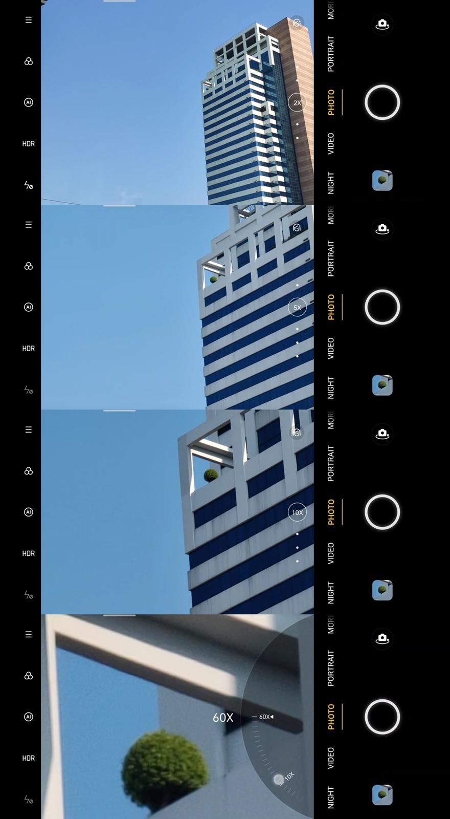 OPPO Find X2 Pro 5G Zoom