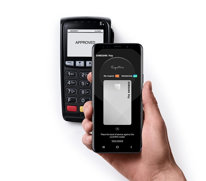 pay by samsung pay