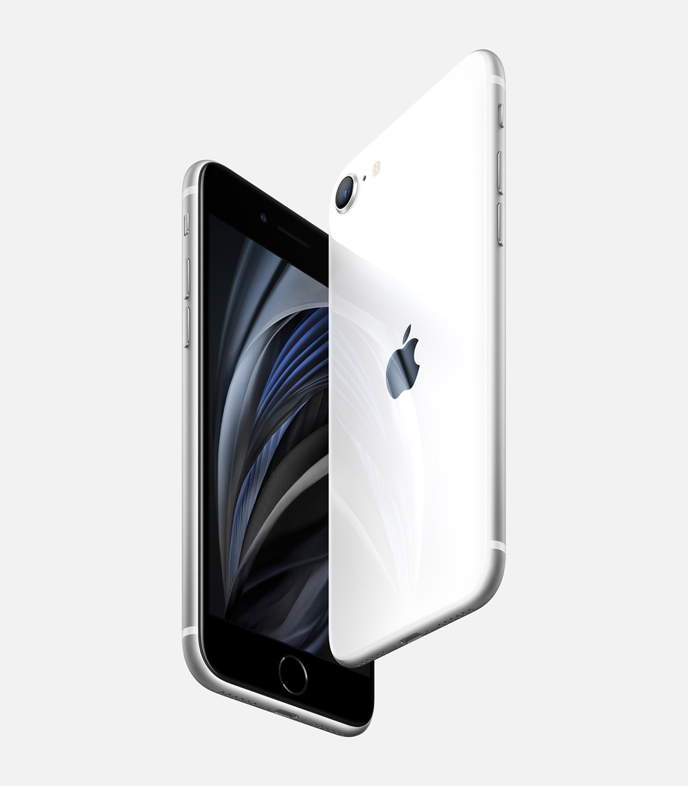 Apple new iphone se white