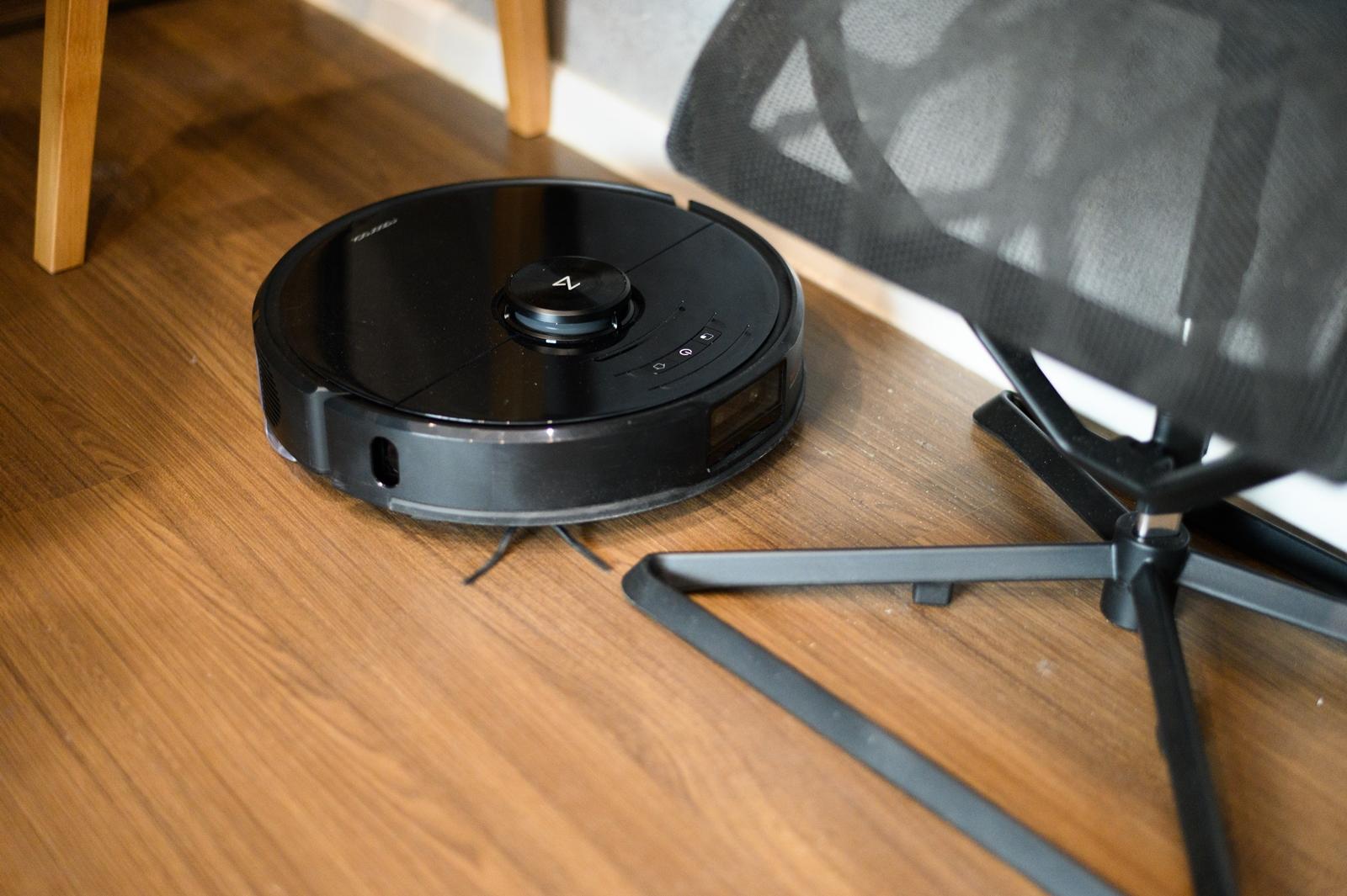 รีวิวหุ่นยนต์ดูดฝุ่น Roborock S6 MaxV