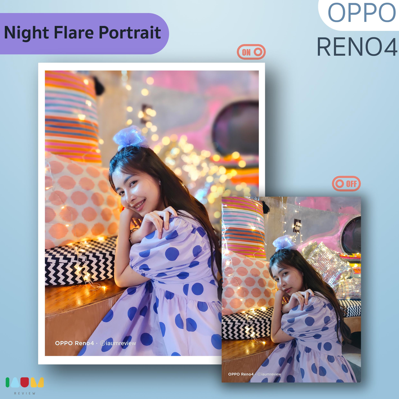 Night Flare Portrait OPPO Reno4