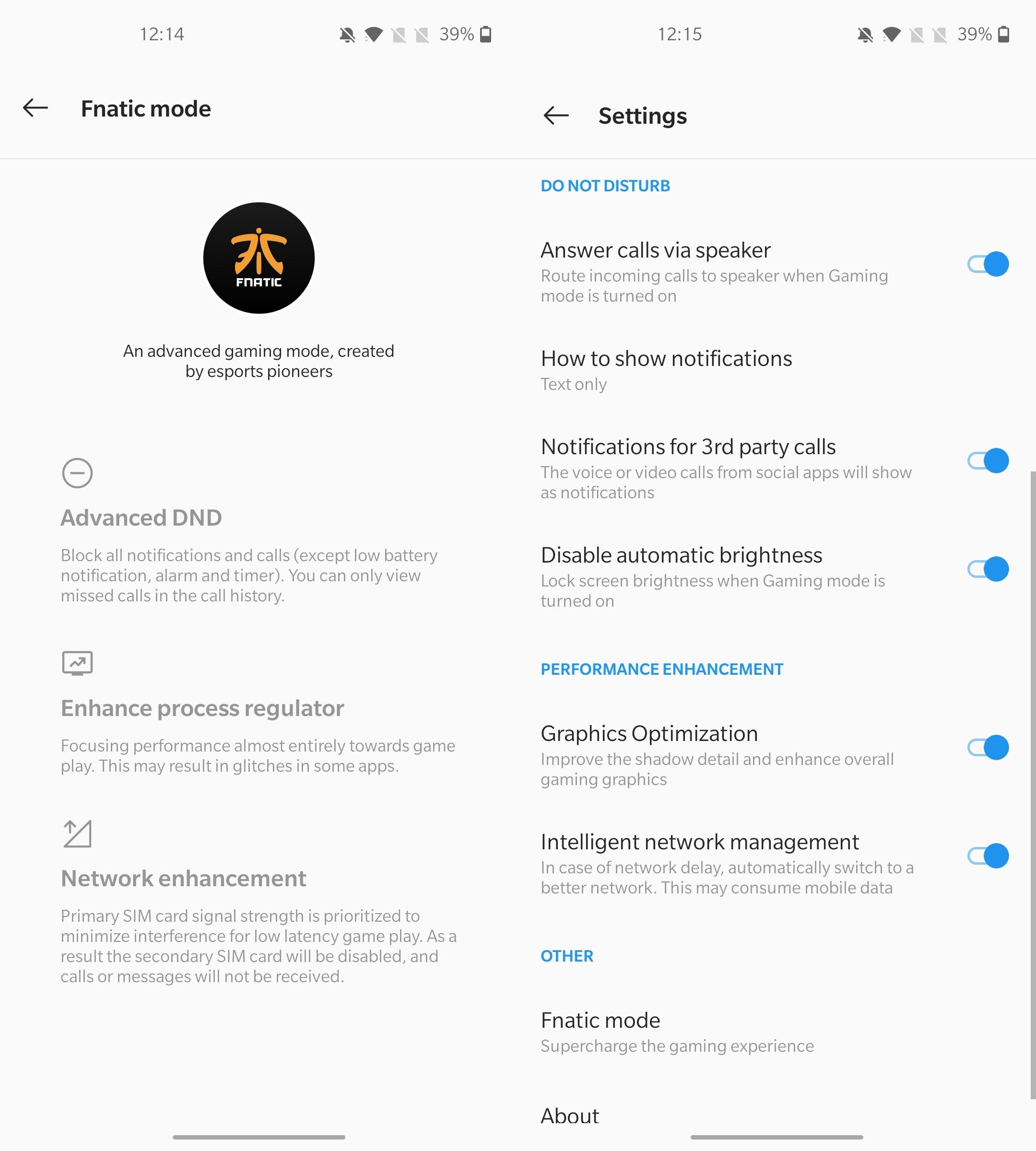 OnePlus Nord - Fnatic Mode