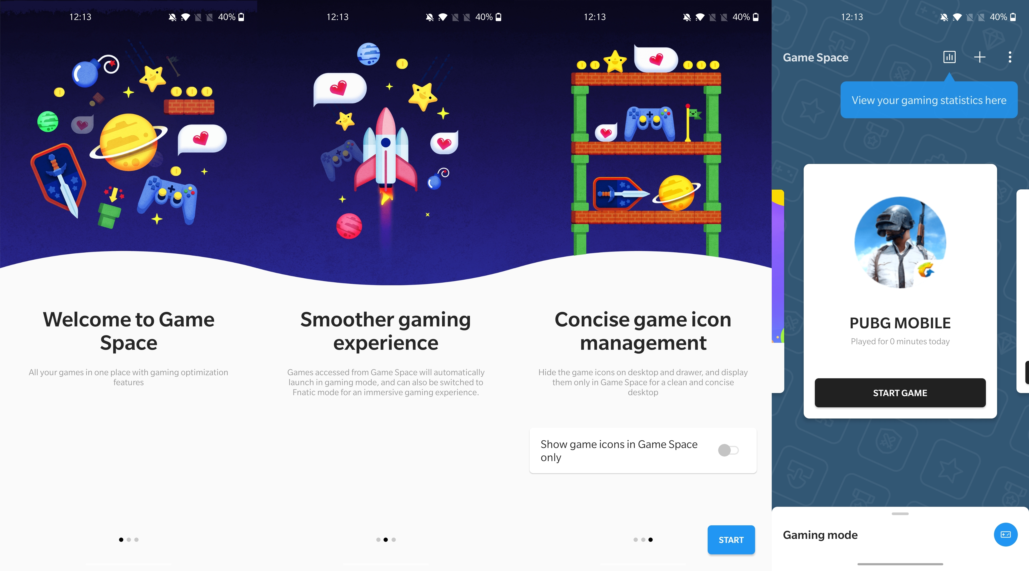 OnePlus Nord - Game Space