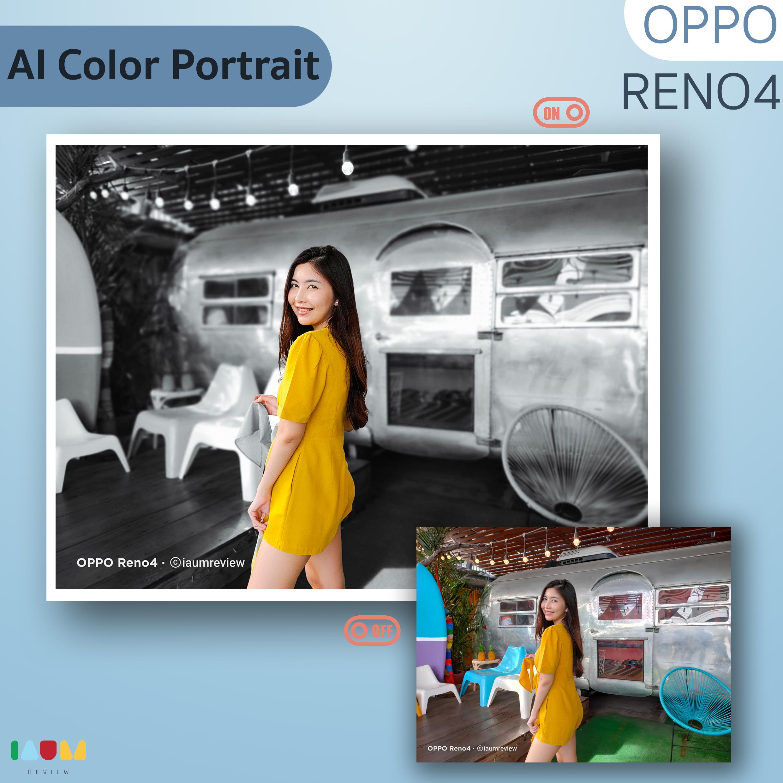 AI Color Portrait OPPO Reno4