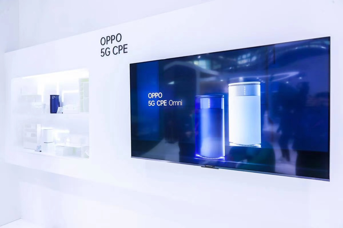 5G CPE OPPO MWCS 2021