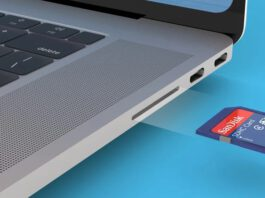 MBP SD Card reader