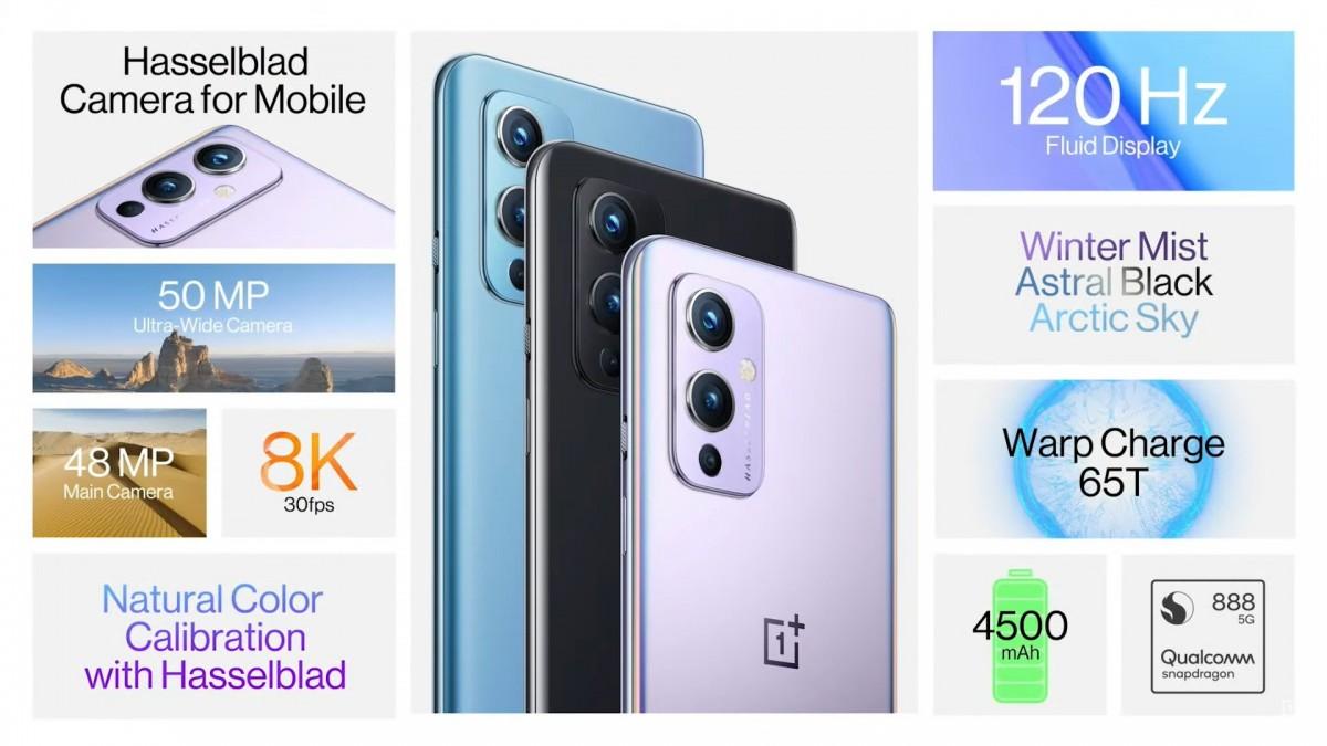 OnePlus 9 spec