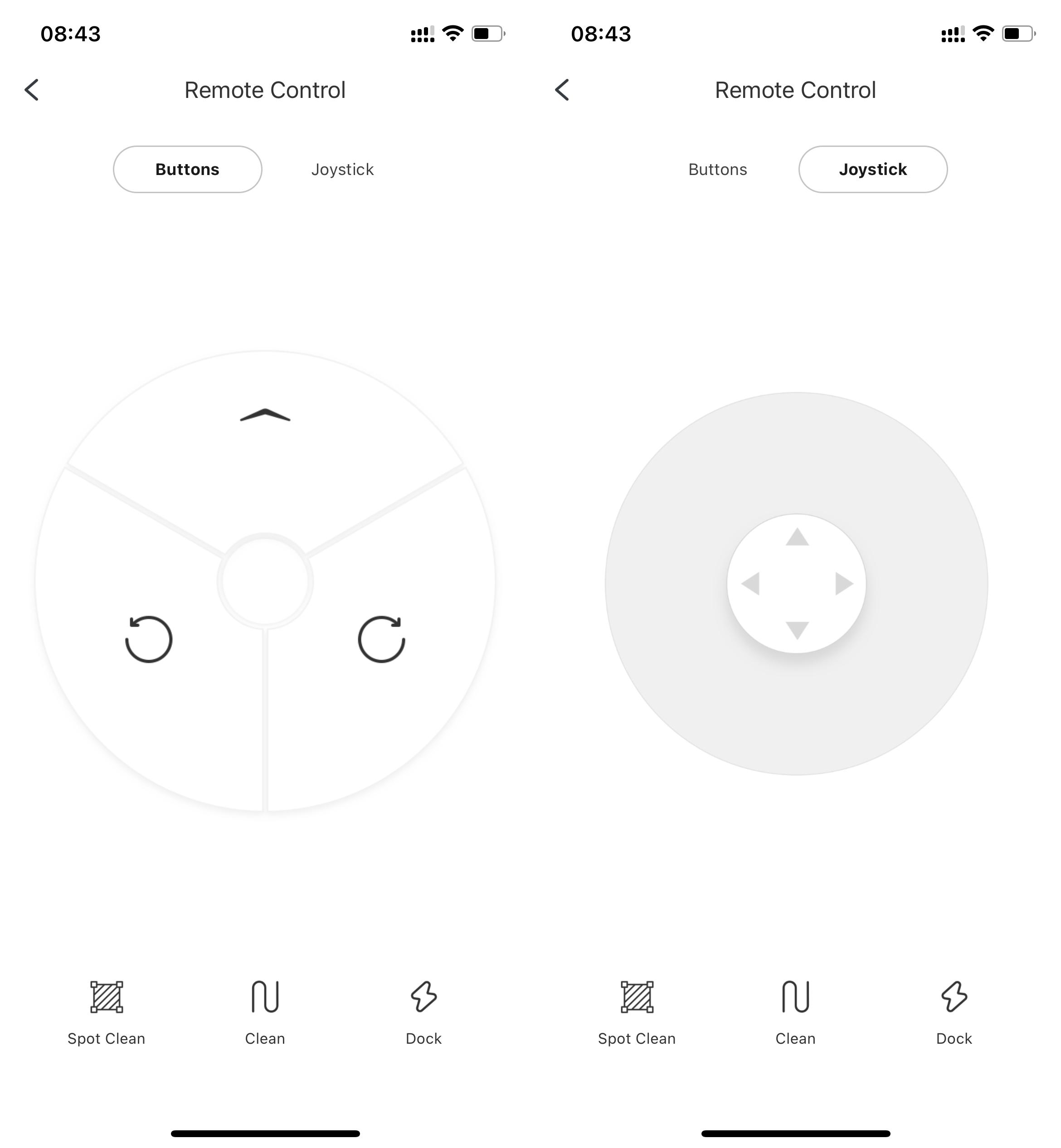 Roborock Remote Control App
