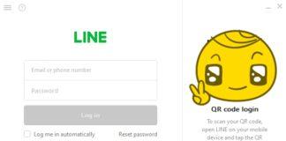 ล็อกอิน LINE บนคอม, LINE Desktop, LINE QR Code, LINE บนคอม QR Code, ใช้ LINE บนคอม