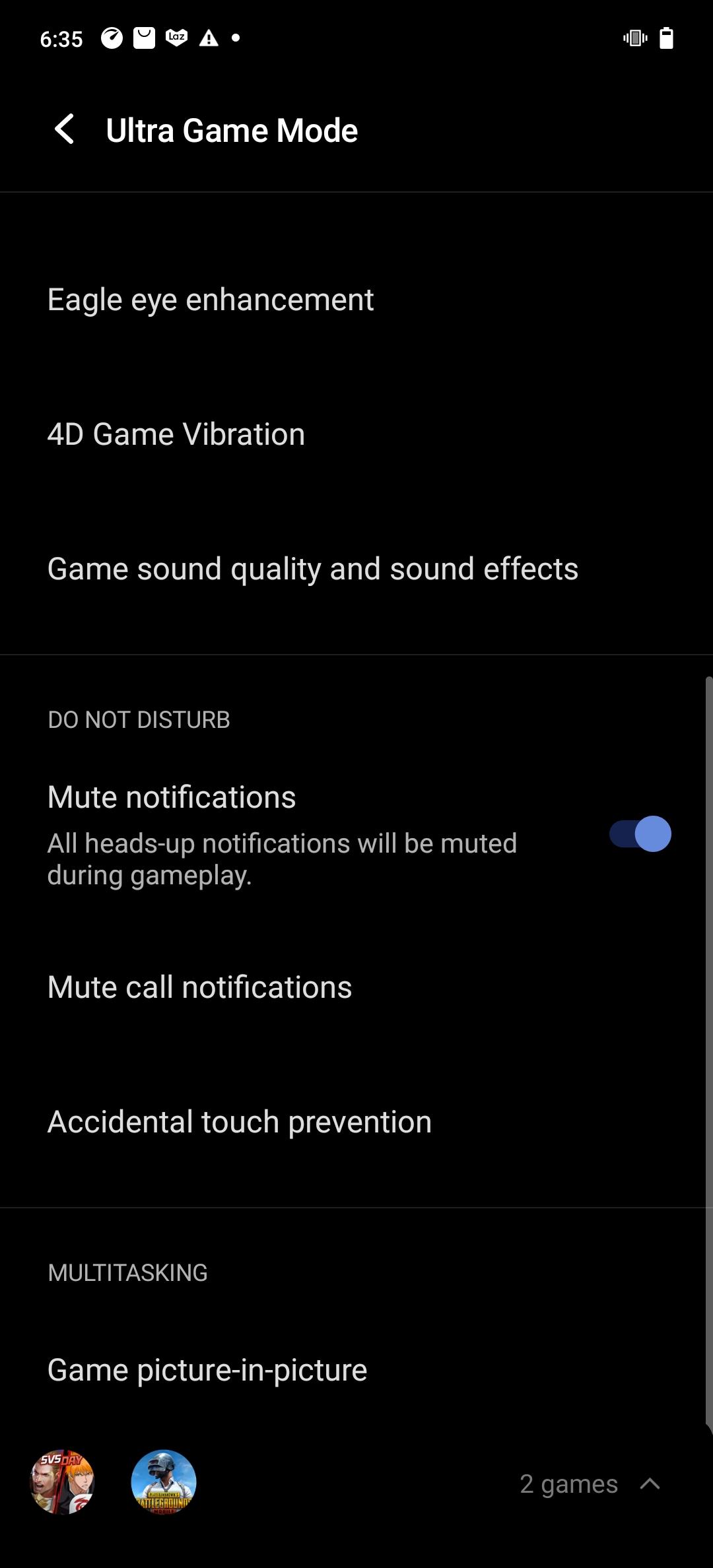 vivo X60 Pro 5G Pro Ultra Game Mode