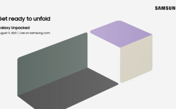 Samsung Fold Invite