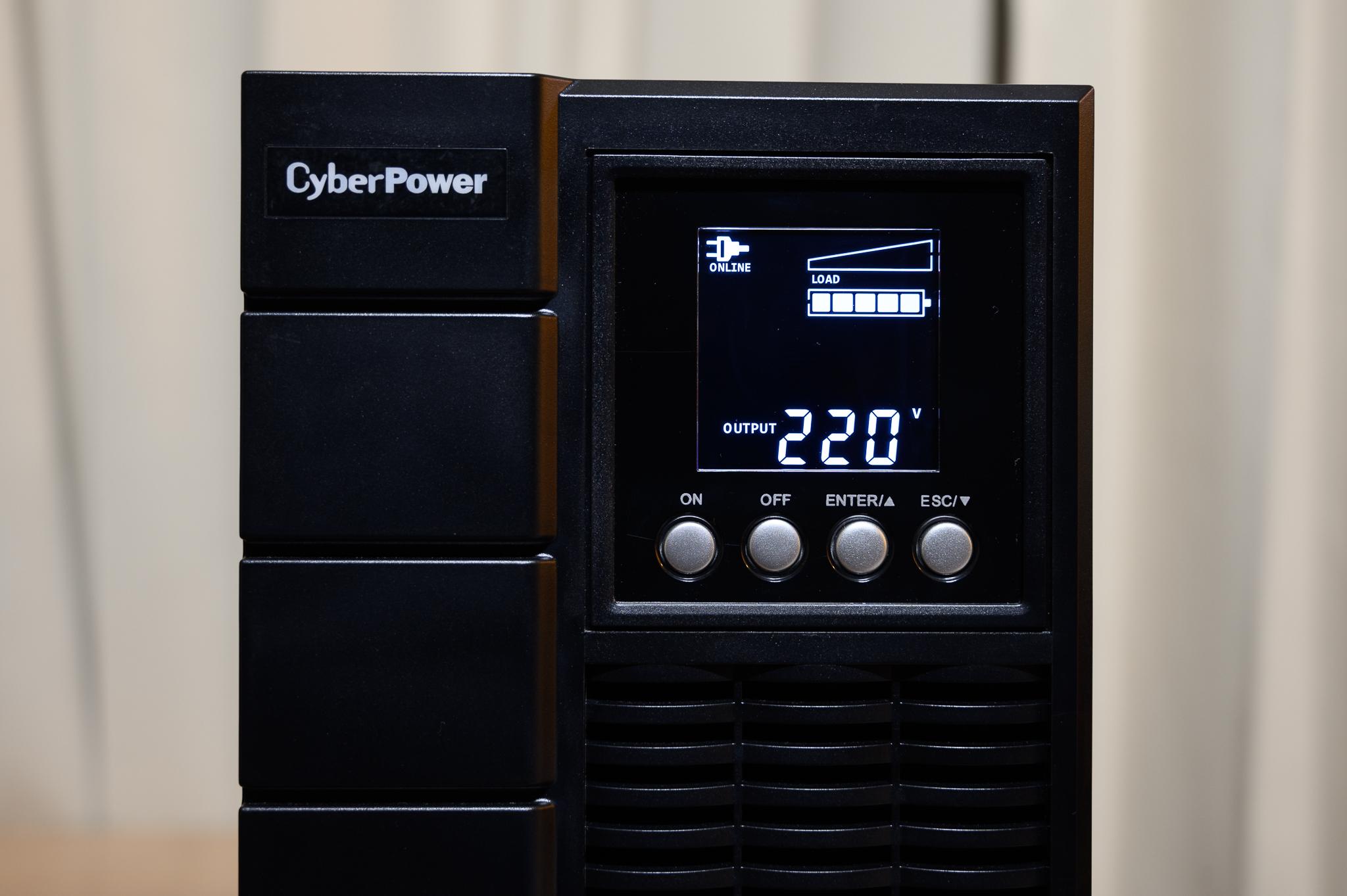 เครื่องสำรองไฟฟ้า CyberPower
